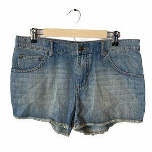 London Jeans light wash jeans shorts size 10